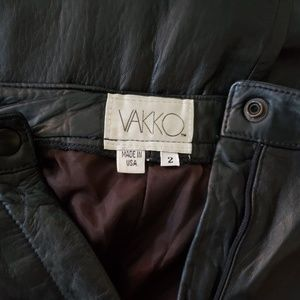 Vakko Pants - VAKKO BLACK VINTAGE CLASSIC PANTS 2